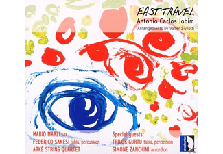 Marzi, Gurtu, Arke String Quartet, Sanesi - Jobim: East Traval (Arrangements By Valter Siviotti) - (CD)