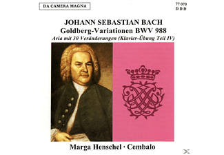 Marga Henschel - Goldberg-Variationen BWV 988 - (CD)
