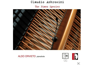Aldo Orvieto - The Piano Species - (CD)
