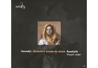 Magali & Rosasolis Leger - Mottetti e Sonate da Chiesa - (CD)