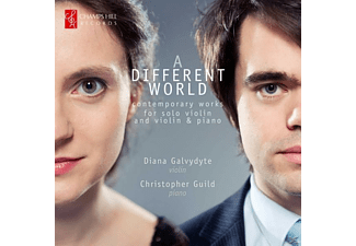 GALVYDYTE, DIANA & GUILD, CHRISTOPH, Galvydyte/Guild - A Different World-Werke für Violine und Klavier - (CD)