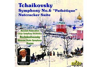 Pavel Kogan, USSR Ministry of Culture Symphony Orchestra, Moscow Symphony Orchestra - Tschaikowsky Sinf.6 - (CD)