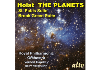 Barry Wordsworth, Royal Philharmonic Orchestra - Holst The Planets/+ - (CD)