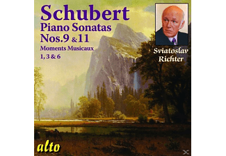 Sviatoslav Richter - Schubert Piano Sonatas 9+11 - (CD)