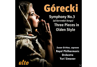 Royal Philharmonic Orchestra, SIMONOV & ROYAL PHILHARMONIC ORCH. - Gorecki Sinfonie 3 - (CD)