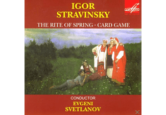 The Ussr Symphony Orchestra - THE RITE OF THE SPRING/CARD GAME - (CD)