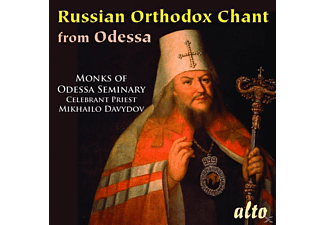 Monks of Odessa Seminary, Mikhailo Davydov - Russian Ortodox Chants - (CD)