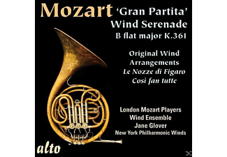 Glover/London Mozart Ensemble Winds - Gran Partita KV 361/+ - (CD)