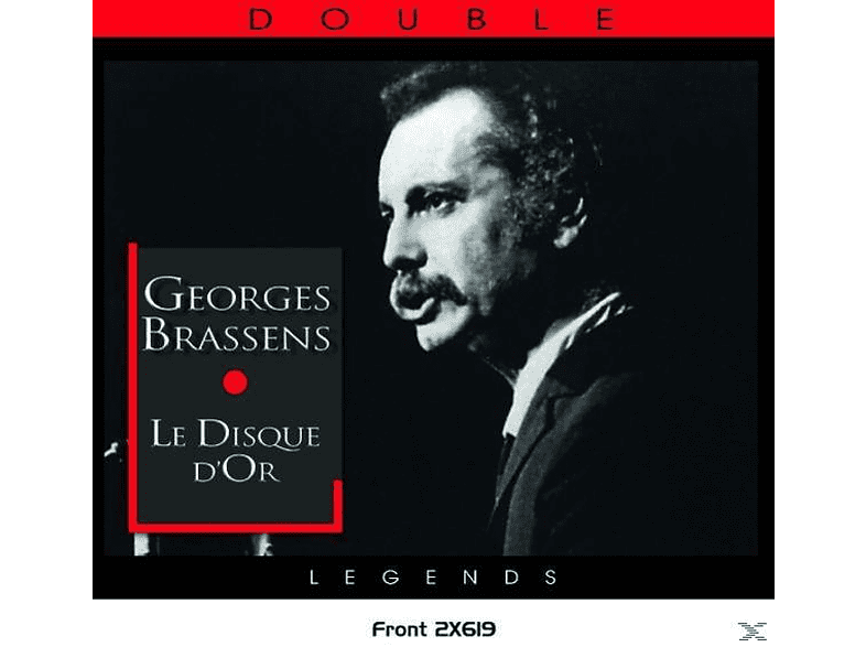 Georges Brassens - Le Disque D'or [CD]