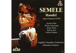 English Chamber Orchestra, Johannes Somary, VARIOUS - Semele - (CD)