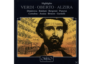 Giuseppe Verdi - Verdi: Highlights From Oberto & Alzira - (CD)