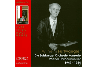 Various Artists, Wiener Philharmoniker - Die Salzburger Orchesterkonzerte - (CD)