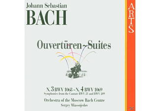 Moscow Bach Centre O - Ouvertüren Suites - (CD)