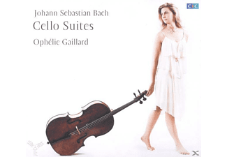 Gaillard Ophelie - Cellosuiten Bwv 1007-1012 [CD]