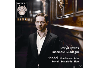 Iestyn & Ensemble Guadagni Davies - Jubilate Domino/9 Deutsche Arien - (CD)