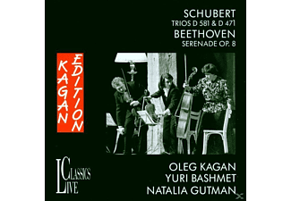 Gutman Natalia - Schubert Trios/Beethoven - (CD)