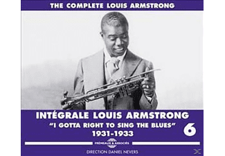 Louis Armstrong - I Gotta Right To Sing The Blues-The Compl.Vol.6 - (CD)