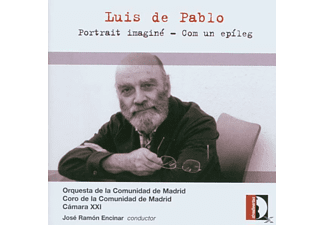 Orquesta Y Coro De La Comunidad De - DE PABLO: PORTRAIT IMAGINE FOR 22 I - (CD)