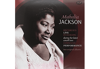 Mahalia Jackson - Recorded Live In Europe During Her Latest Concert Tour Command Performance (Vinyl LP (nagylemez))