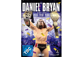 WWE: Daniel Bryan - Just Say Yes! Yes! Yes! - (DVD)
