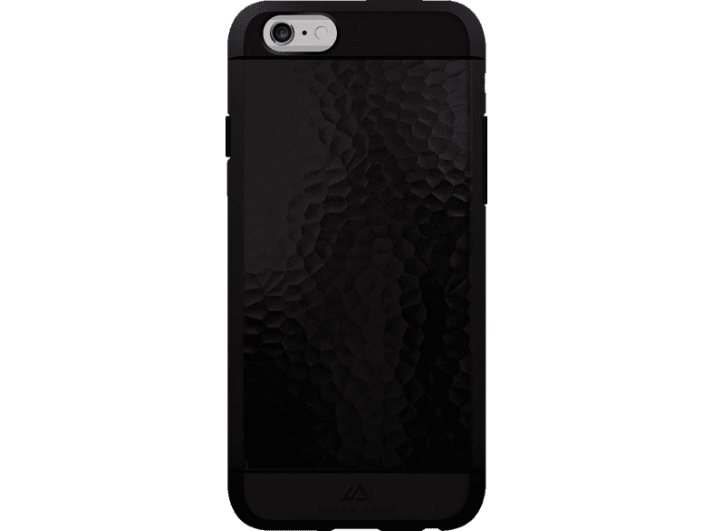 BLACK ROCK Hammered Backcover Apple iPhone 6, iPhone 6s Kunststoff/Metall/Thermoplastisches Polyurethan Schwarz