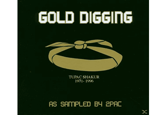 VARIOUS - Gold Digging-As Sampled By 2pac - (CD)