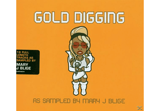 VARIOUS - Gold Digging-As Sampled By Mary J Blinge - (CD)