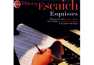 Thierry/aubier/ensemble Soli-tutti Escaich - Esquisses - (CD)