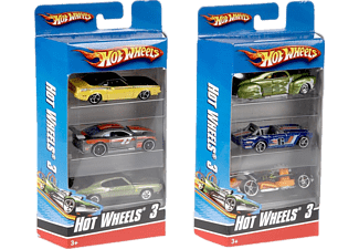 HOT WHEELS Üçlü Araba Seti