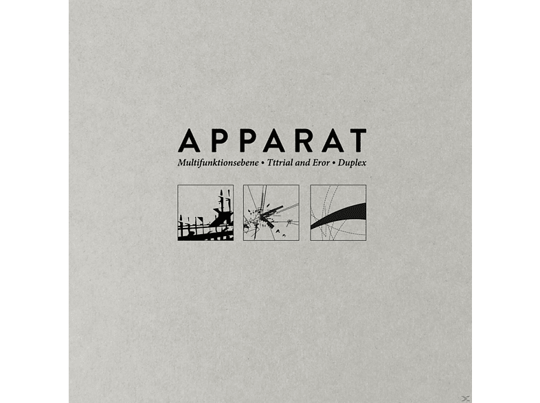 Apparat - Multifunktionsebene/Tttrial And Eror/Duplex [CD]