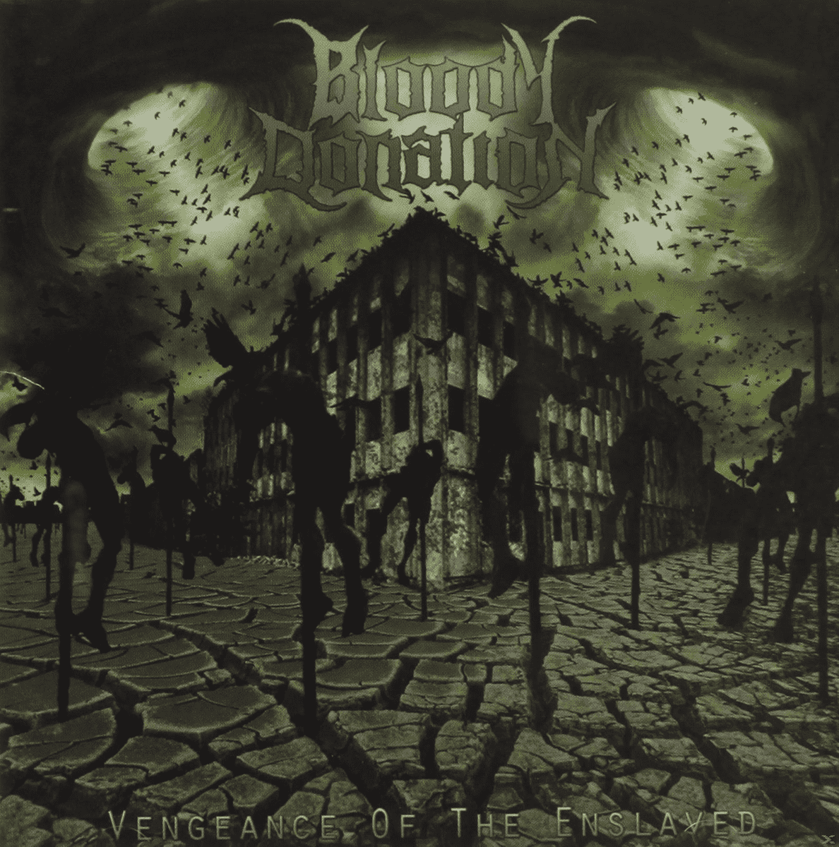 Vengeance Of The Enslaved Bloody Donation auf CD