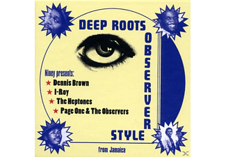 Niney The Observer - Deep Roots Observer Style (Box-Set) [CD]