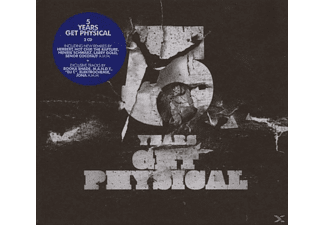 VARIOUS - 5 YEARS GET PHYSICAL - (CD)
