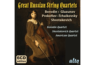 Borodin Quartet/American String Quartet - Great Russian String Quartets - (CD)