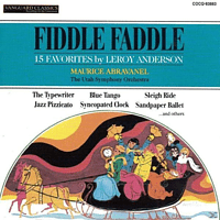 Utah Symphony Orchestra - Fiddle Faddle [CD]