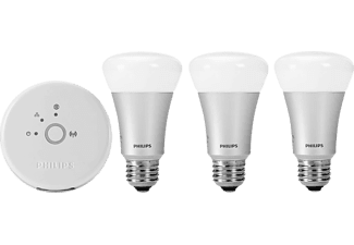 PHILIPS Hue - coloured & white light Starter pack 3 x E27 10W LED