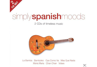 VARIOUS - Simply Spanish Moods [CD]