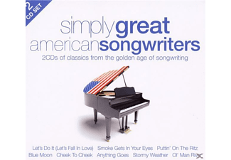 VARIOUS - Simply Great American Songwriters (2cd) - (CD)