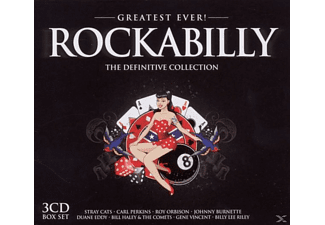 VARIOUS - Rockabilly-Greatest Ever - (CD)
