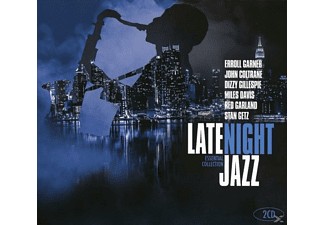 VARIOUS - Late Night Jazz - Essential Collection - (CD)