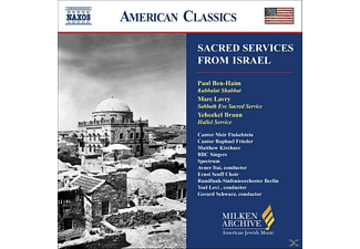 Frieder - Sacred Services From Israel - (CD)