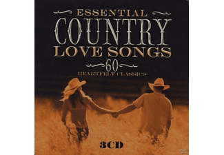 VARIOUS - Essential Country Love Songs (Lim.metalbox Ed.) - (CD)
