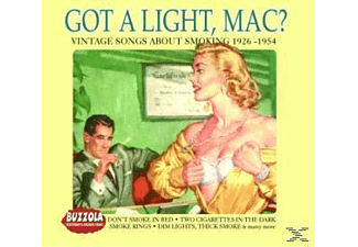 VARIOUS - Got A Light,Mac - Vintage Songs About Smoking - (CD)