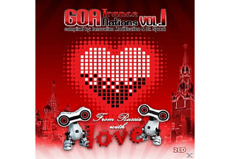 VARIOUS - Goa Trance Nations Vol.1 - (CD)