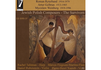 R./Rubenstein/Fregnani-Martins/Xuereb Talitman - Jewish Polish Composers-The Survivors - (CD)