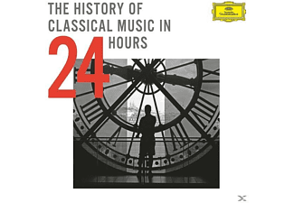VARIOUS - The History Of Classical Music In 24 Hours [CD]