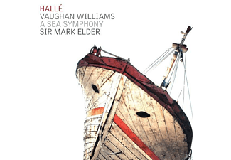 Sir Mark Elder, VARIOUS, The Halle Orchestra - A Sea Symphony [CD]