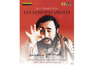 Luciano Pavarotti, VARIOUS, Chorus And Orchestra Of The Teatro Alla Scala, Chorus And Orchestra Of The San Francesco Opera - Best Wishes Of Luciano Pavarotti [DVD]