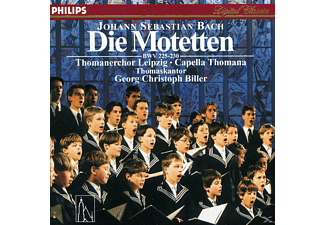 Thomanerchor Leipzig, Thomanerchor Leipzig/Capella Thomana/Biller - Motetten Bwv 225-230 - (CD)