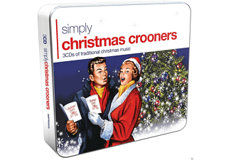 VARIOUS - Simply Christmas Crooners (3cd Tin) - (CD)